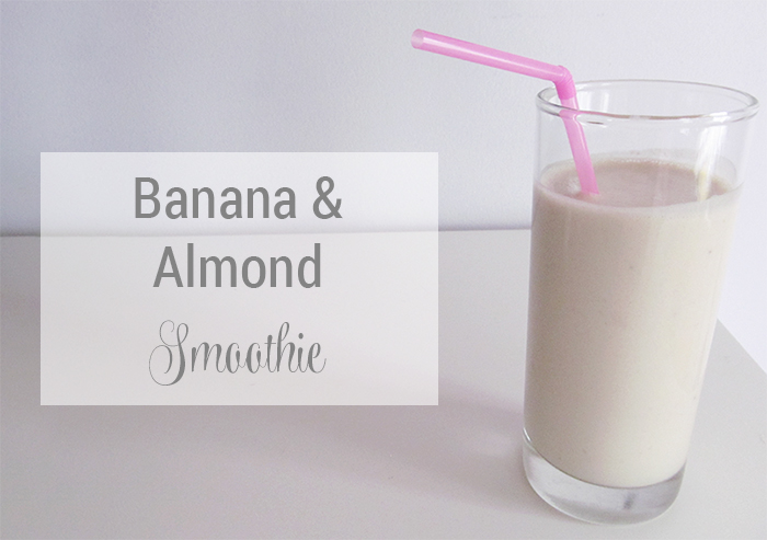 Banana & Almond Smoothie