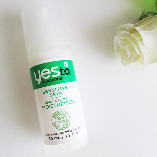 yes to cucumbers daily calming moisturiser.