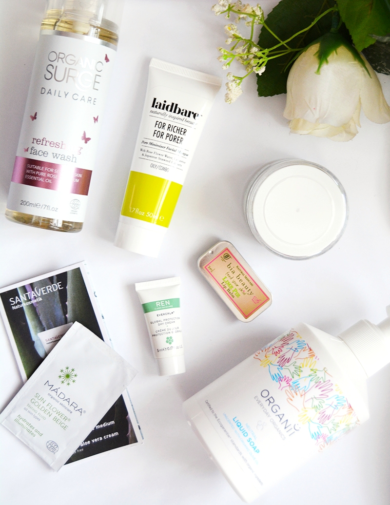 natural skincare haul