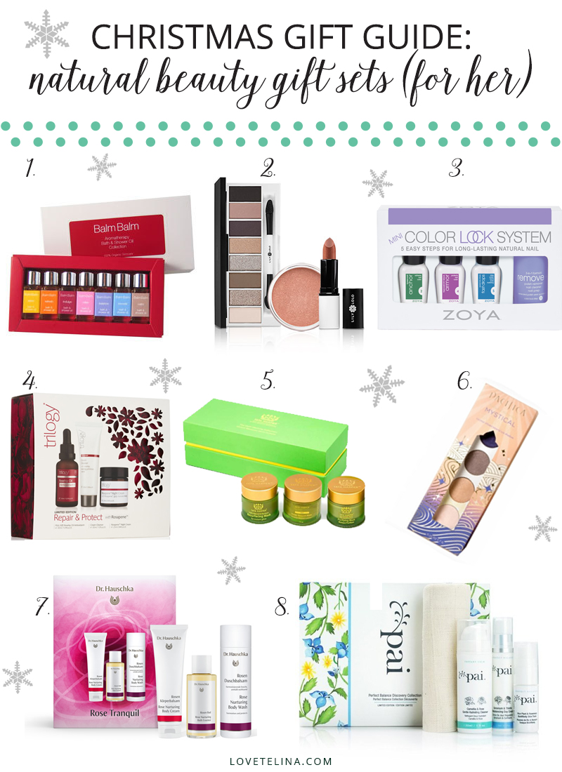 Christmas Gift Guide | Natural Beauty Gift Sets (For Her)