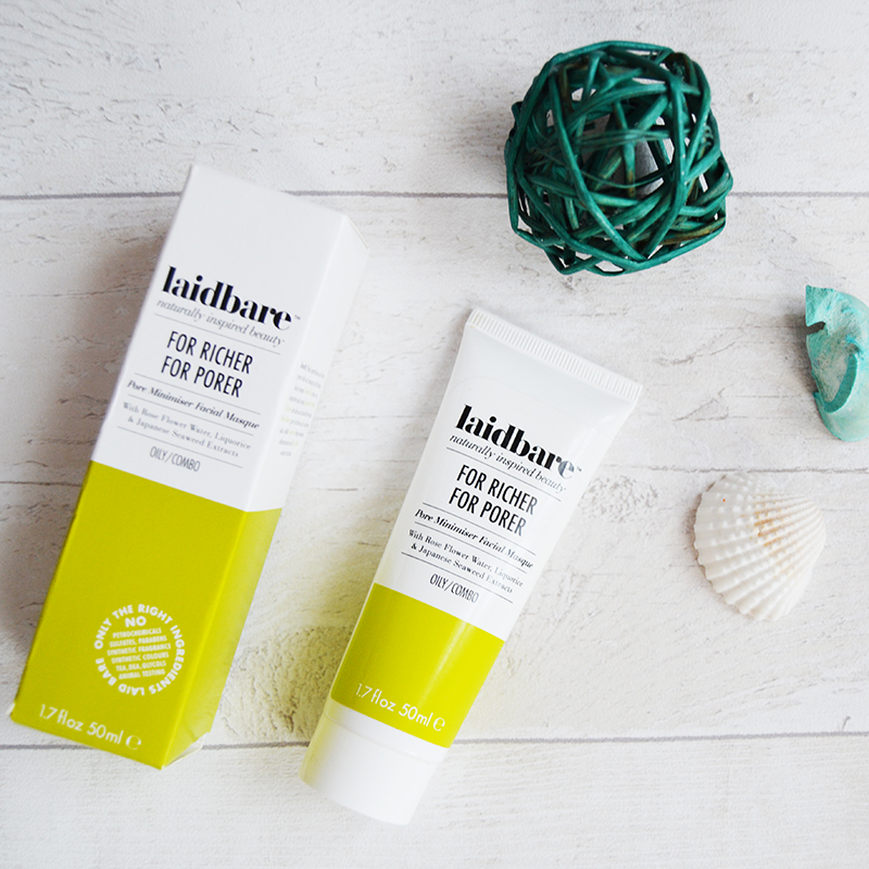 Laidbare For Richer For Porer Pore Minimiser Facial Masque