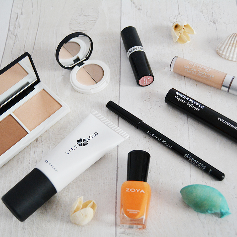 green beauty haul