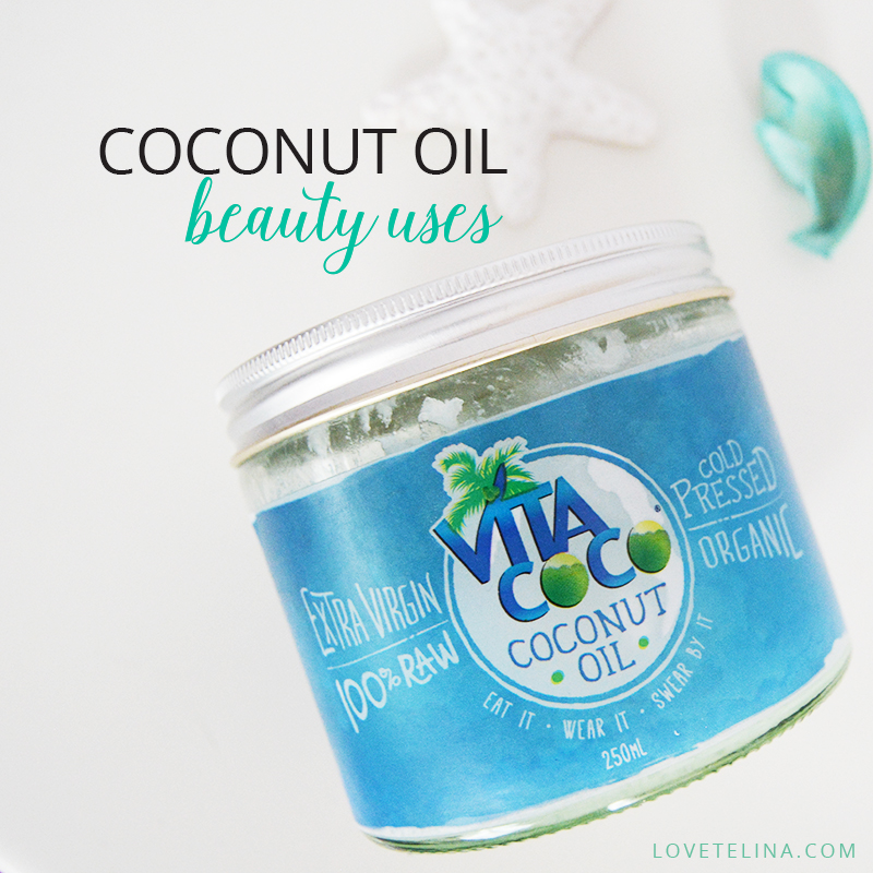 coconut oil beauty uses
