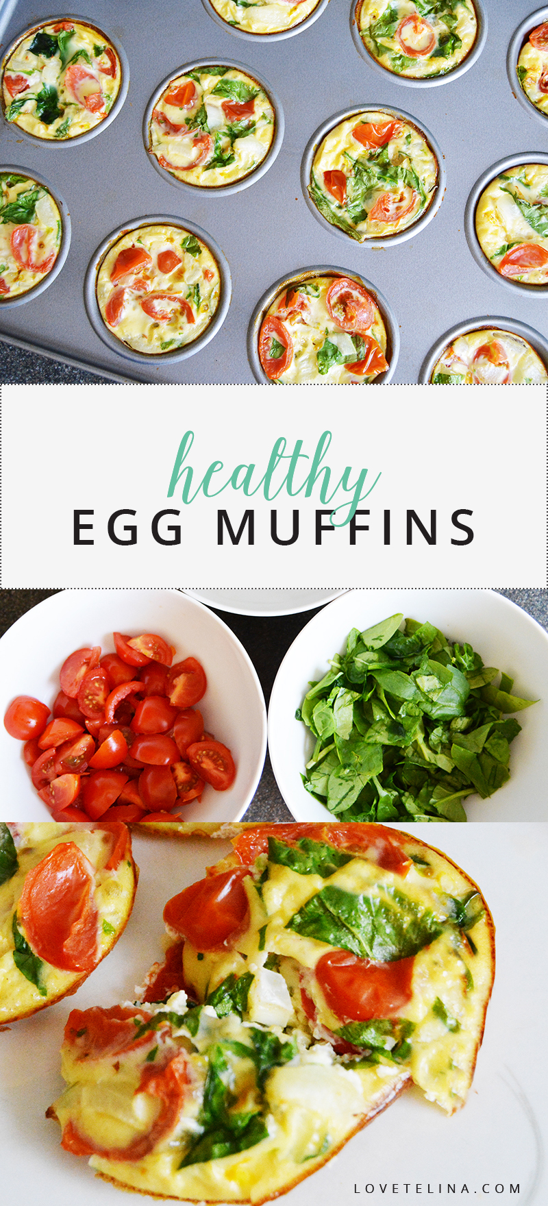 healthy egg muffins recipe