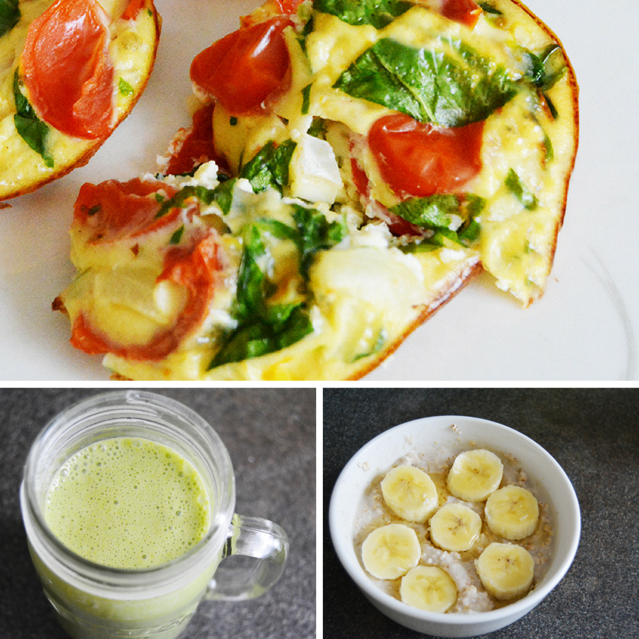 Three Healthy Breakfast Ideas