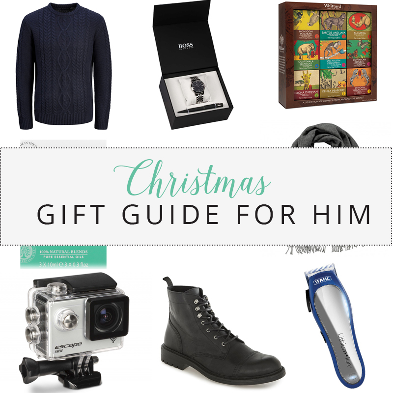 Christmas Gift Guide 2017 | For Him