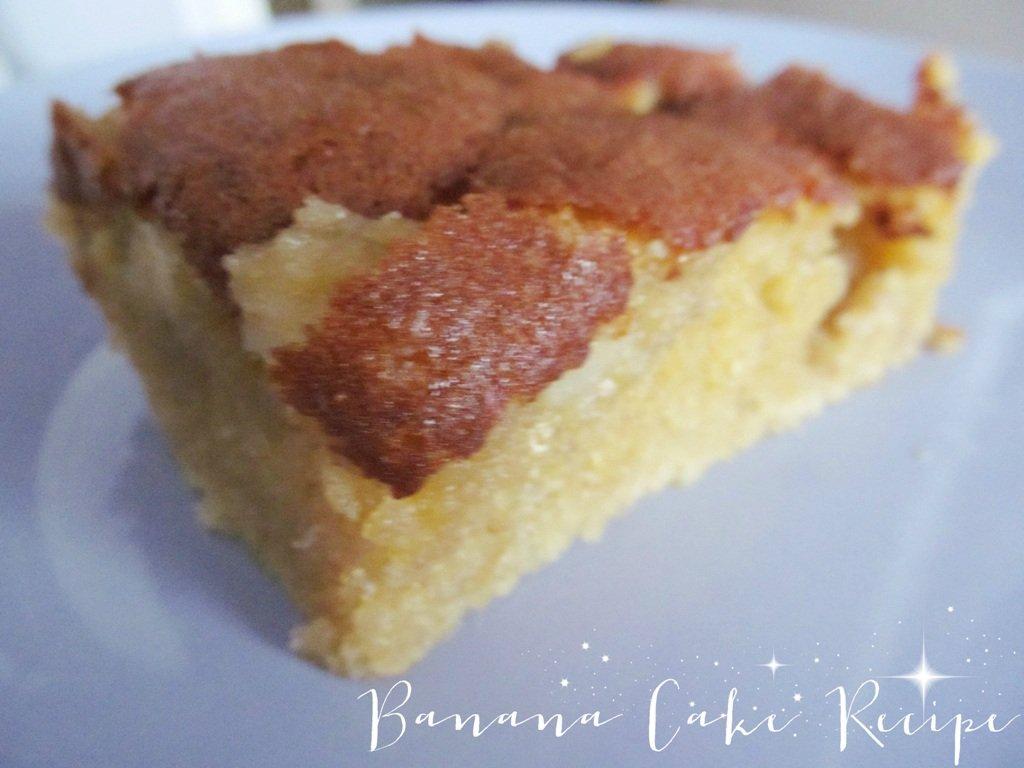 Banana Cake Recipe With Self Raising Flour