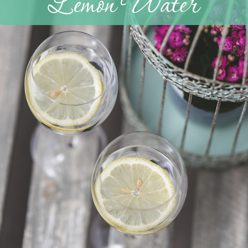 The Benefits of Drinking Lemon Water