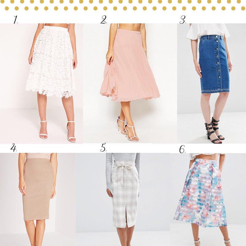 Midi Skirt Wishlist