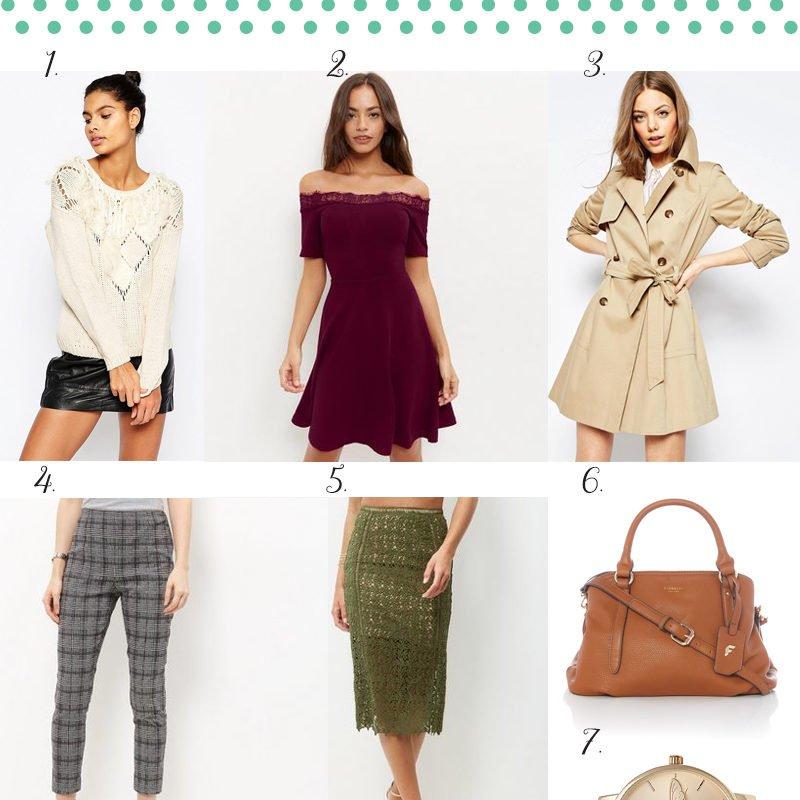 Autumn Wardrobe Wishlist