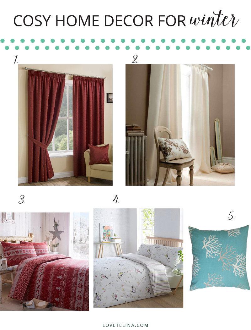 Cosy home decor for winter with curtains love telina - Cosy home deko ...