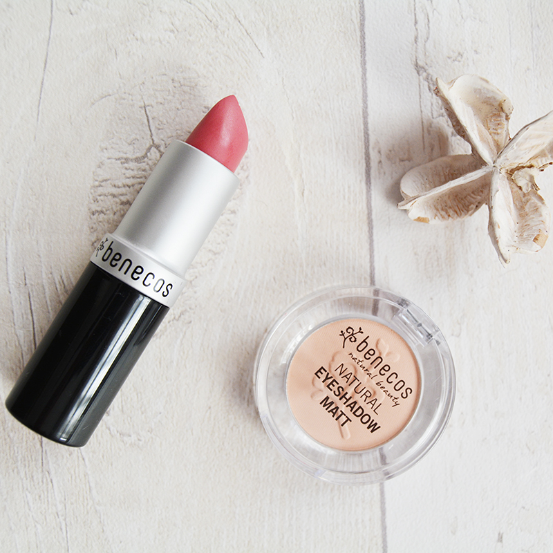 Benecos Natural Lipstick and Eyeshadow