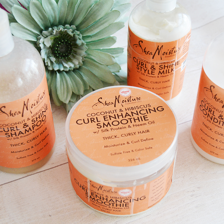 Shea Moisture Coconut & Hibiscus Collection