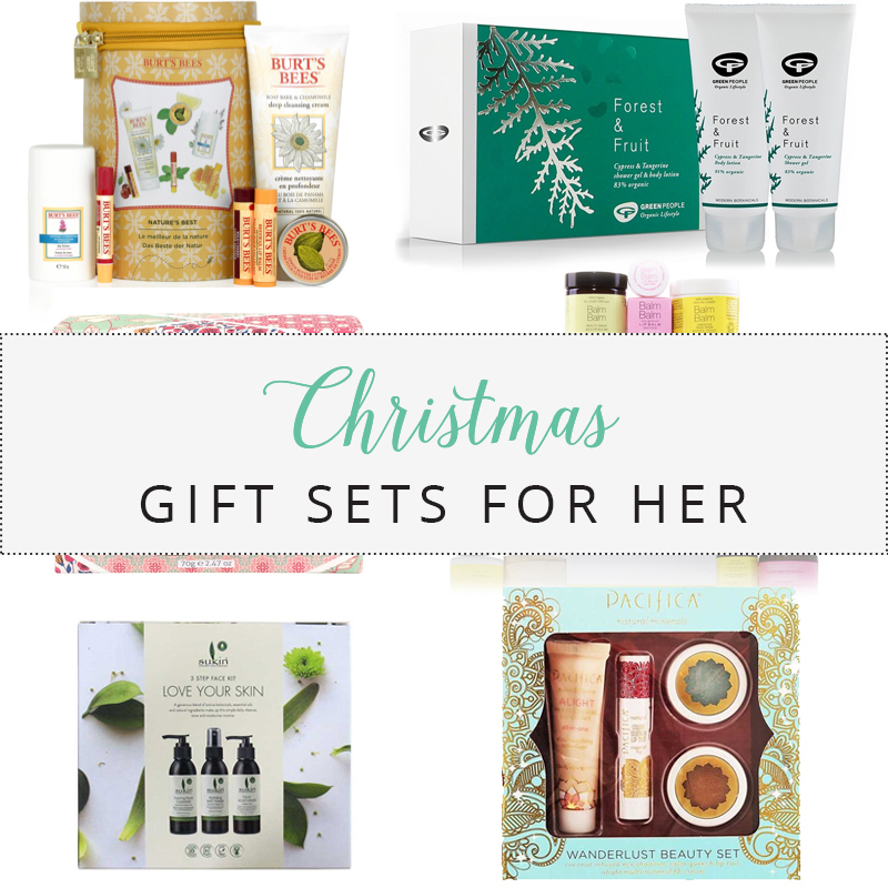 Christmas Gift Guide 2017 | Gift Sets For Her