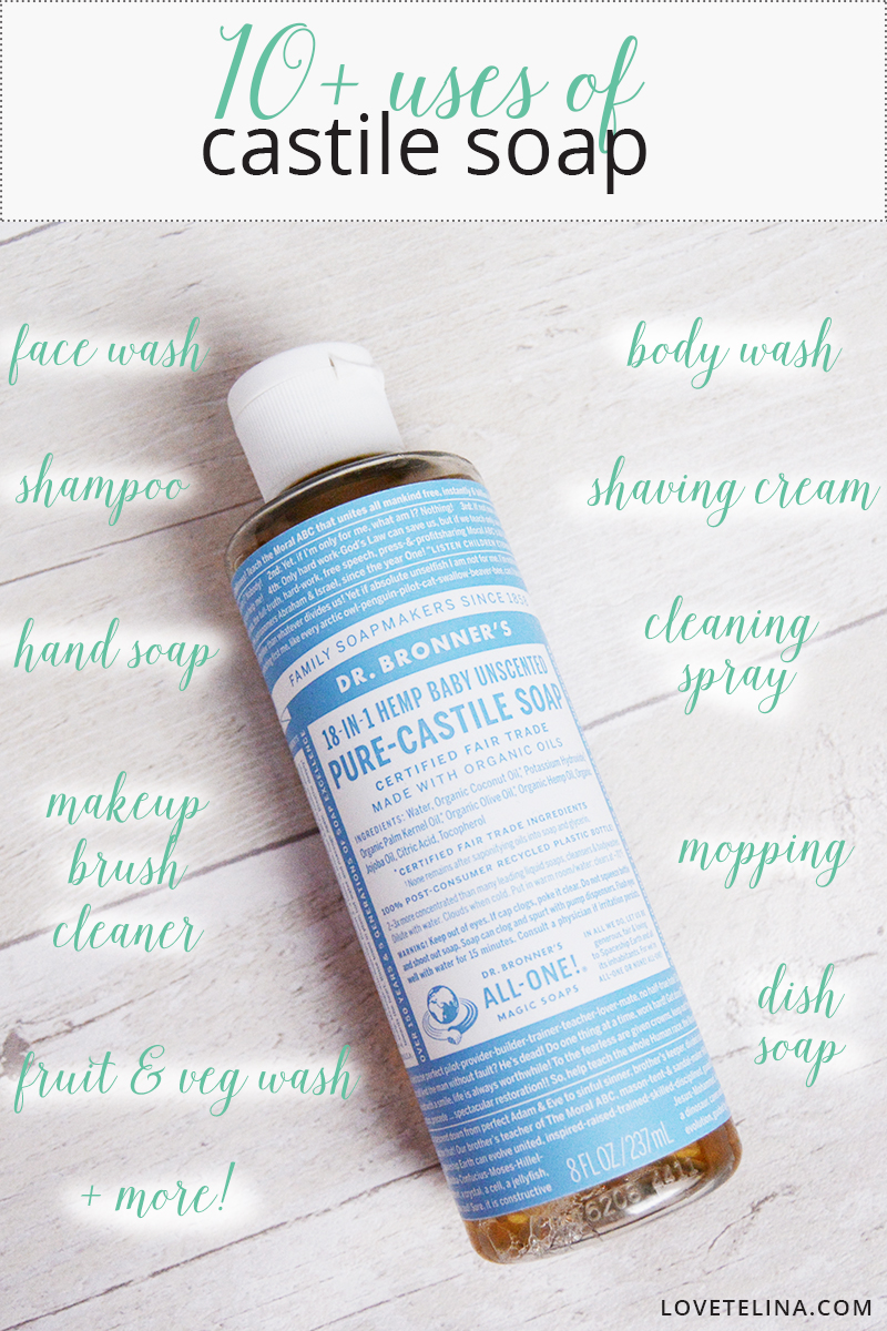 10 uses of castile soap