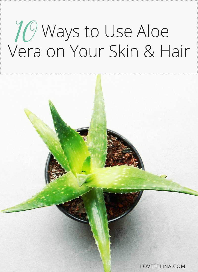 10 Ways to Use Aloe Vera on Your Skin and Hair