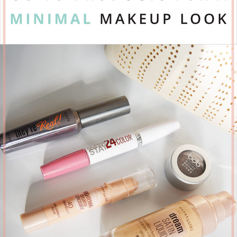 Go-To Products for a Minimal Makeup Look