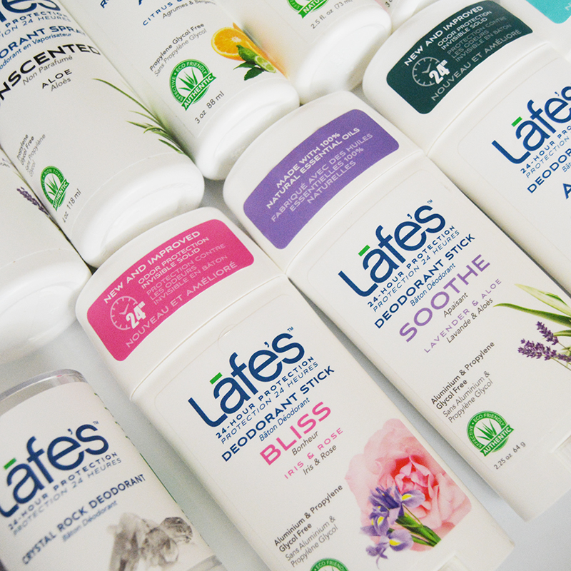 Lafe's Natural Bodycare (plus a GIVEAWAY!)