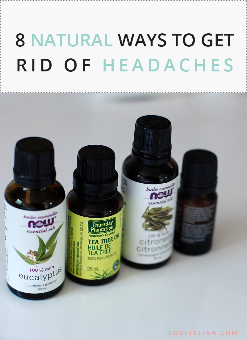 8 Natural Ways to Get Rid of Headaches